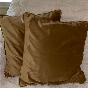 Other - Velvet throw pillow covers set of 2